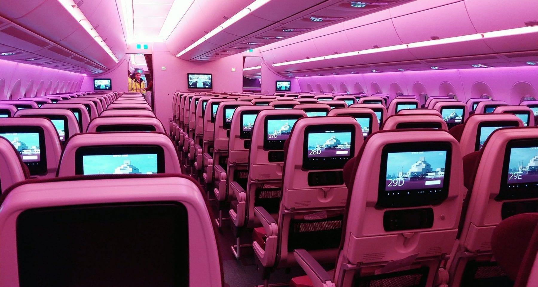 how good is Qatar airways economy class