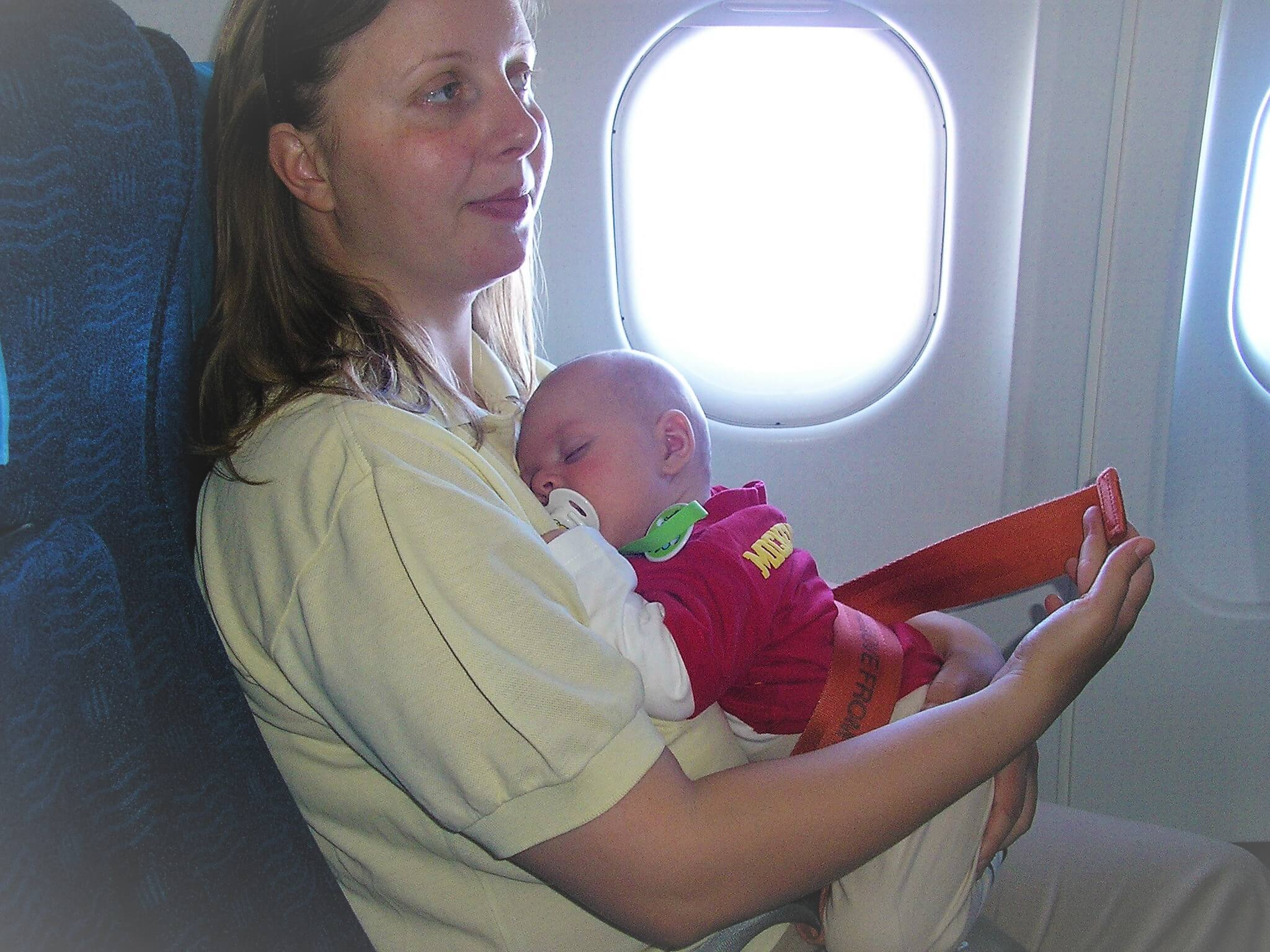 Southwest Airlines traveling with infant